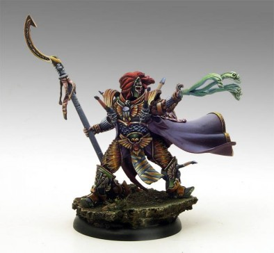 Painted Scarab Knight