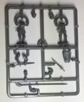 Perry Foot Knight Command Sprue