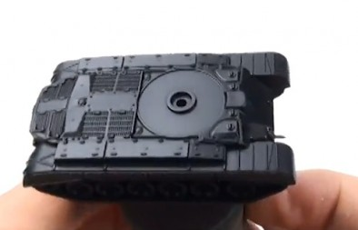 Pershing Undercoated