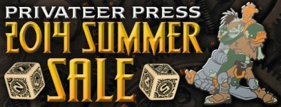 Privateer Press 2014 Summer Sale