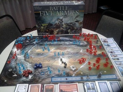 The Battle of Five Armies (Early Components)