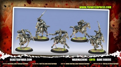 What's In The Box: Cryx Bane Riders!