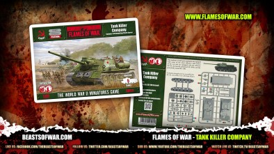 What's in The Box: Flames of War Tank Killers!