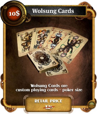 Wolsung Cards