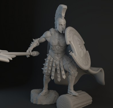 Ares Render (Close-Up)