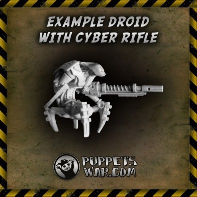 Cyber Rifle Attached