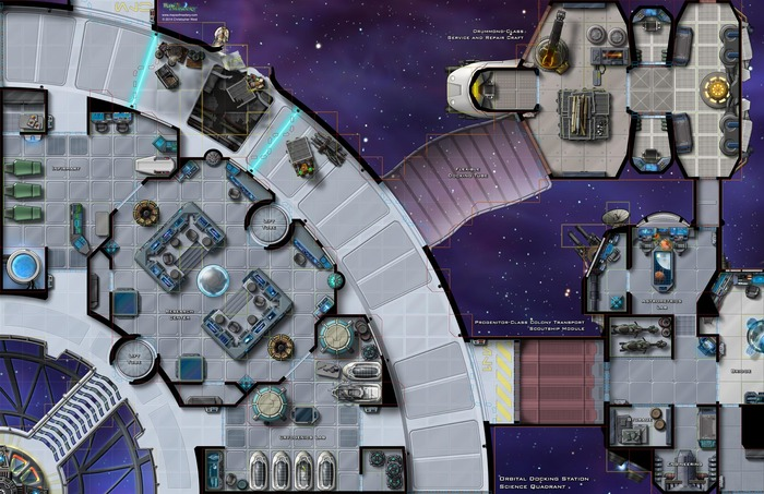 Maybe Your Space Station Requires A Map Distant Outposts