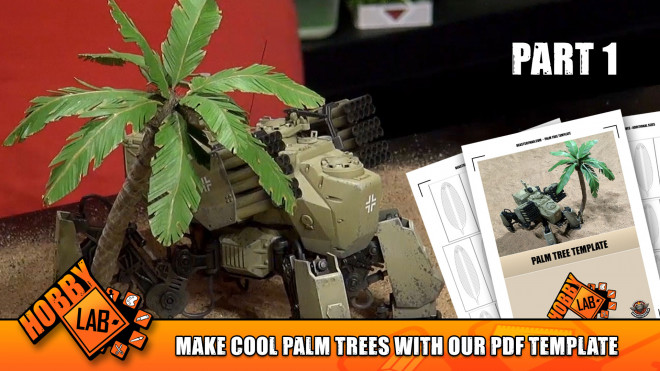 Hobby Lab: Make Cool Palm Trees With Our PDF Template Part 1