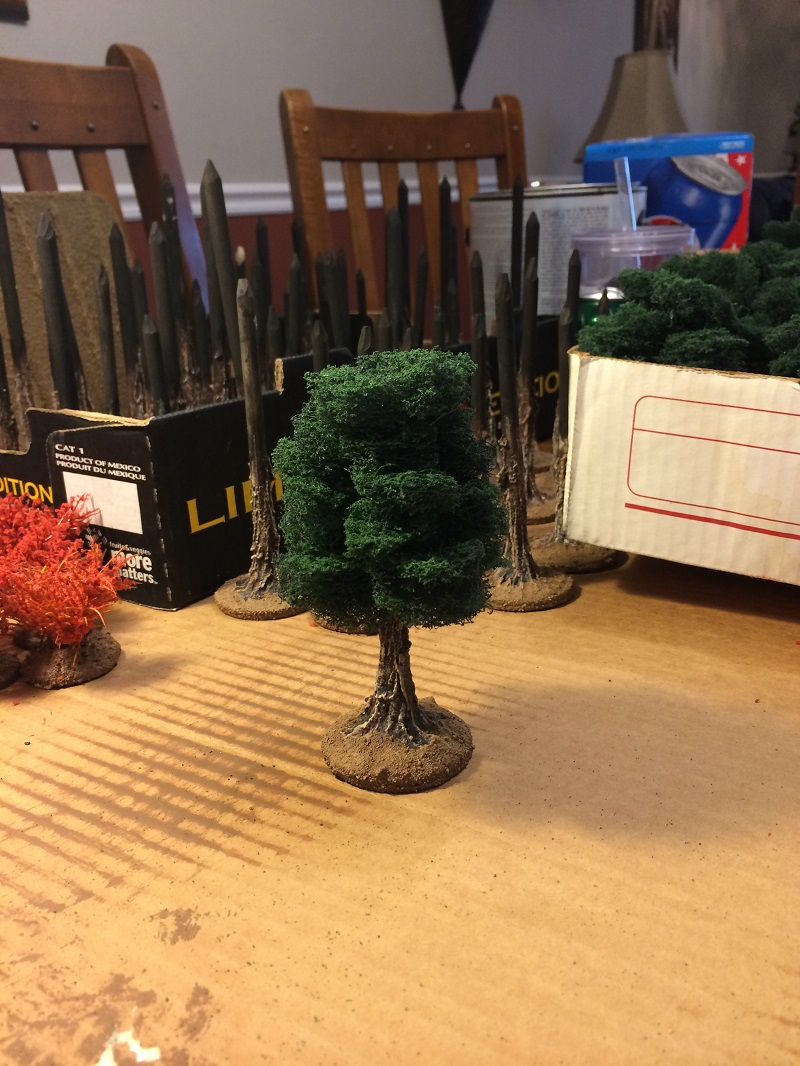 Iu0027ve Been Building Terrain For Nearly Three Decades And Was An Outrider For  Games Workshop In The U002790s. Iu0027m Building The Following Trees For A New ...