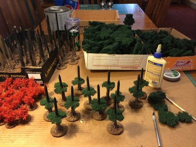 Terrainscaping! How To Make Awesome Tabletop Trees! – OnTableTop