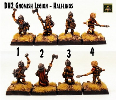 Gnomish Legion- Halflings