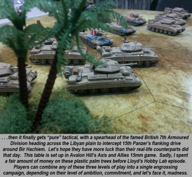 British Tanks Roll Out