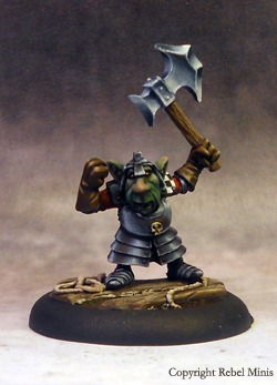Painted goblin