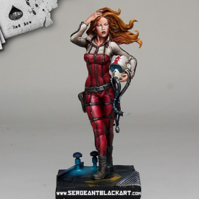 Red Ace Miniature