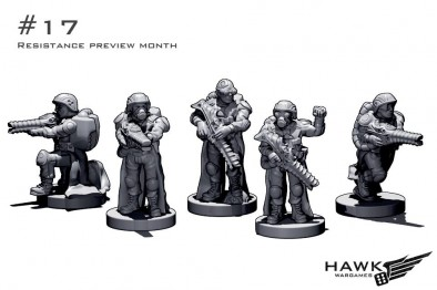 Resistance Scourge Troops