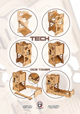 Tech Dice Tower Assembly