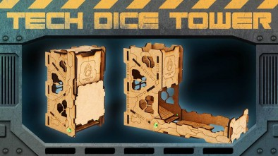 Tech Dice Tower Display