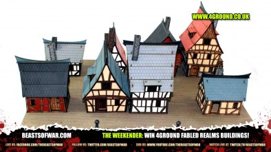 The Weekender: Win 4Ground Fabled Realms Buildings!