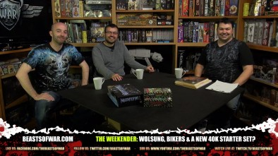 The Weekender: Wolsung, Bikers & A New 40K Starter Set?