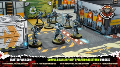 Unboxing Corvus Belli's Infinity Operation: Icestorm