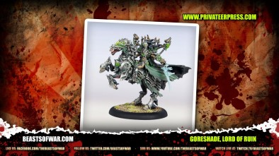 What's In The Box: Warmachine - Goreshade Lord Of Ruin!