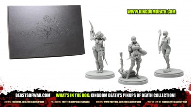 What's in The Box: Kingdom Death's Pinups of Death Collection!