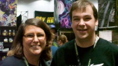 Dawn and Dave from Hawk Wargames