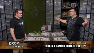 Dropzone Commander: Terrain & Gaming Table Set Up Tips