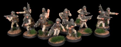 Earth Force Infantry