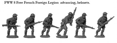 French Foreign Legion (Advancing)