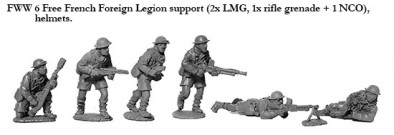 French Foreign Legion (Support Weapons)