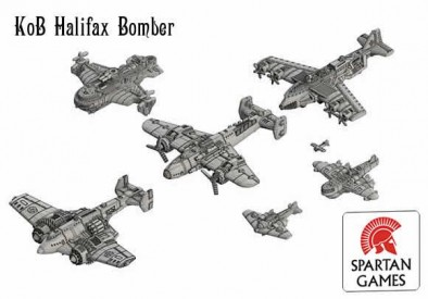 Halifax Bomber (Scale)