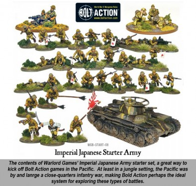 Japanese Bolt Action Army