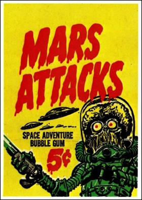 Mars Attacks Cover