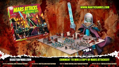 Mars Attacks: Interview & First Look With Ronnie Renton!