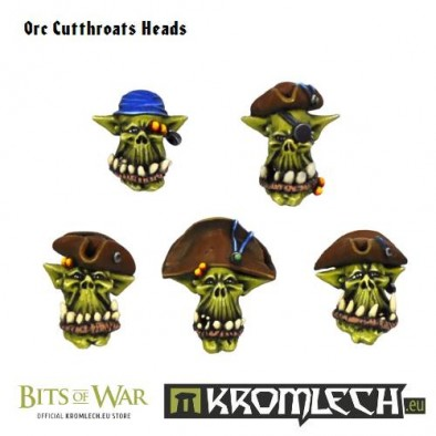 Orc Cutthroat Heads