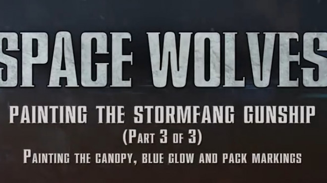 Games Workshop Painting Tutorial: Stormfang Part 3