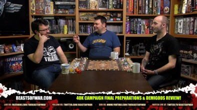 The Weekender: 40k Campaign Final Preparations & Demigods Review!