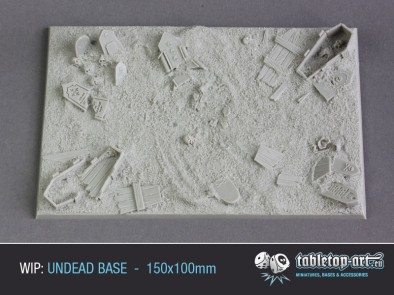 Undead Base 150x100mm