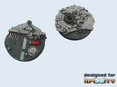 Urban Fight Bases 55mm