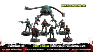 What's In The Box: Judge Dredd - East Meg Invasion Force!