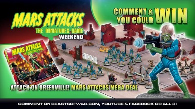 Win Mars Attacks Mega Deal