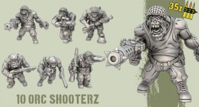10x Orc Shooterz