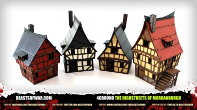 4gound: The Highstreets of Mordanburgh - Unboxed