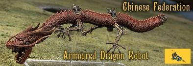 Armoured Dragon Robot