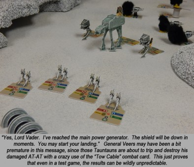 The Tauntaun Defence