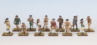 Colonial Militia (Painted)
