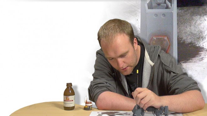 Dust To Dust: How To Paint Rusty Armour Plates!