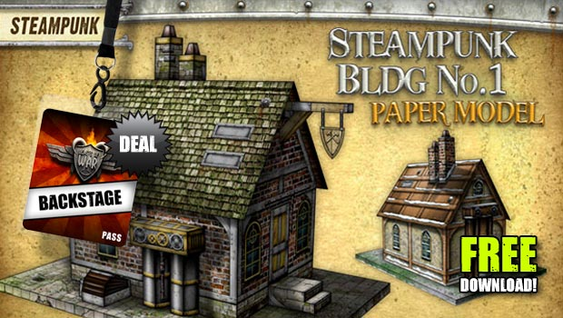 graphic relating to Printable Terrain called Free of charge Printable Terrain Steampunk Acquiring (Hyperlink Up-to-date