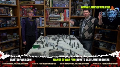 Flames of War FTW: How To Use Flamethrowers!